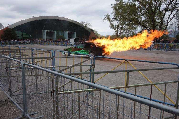 Race show al festival