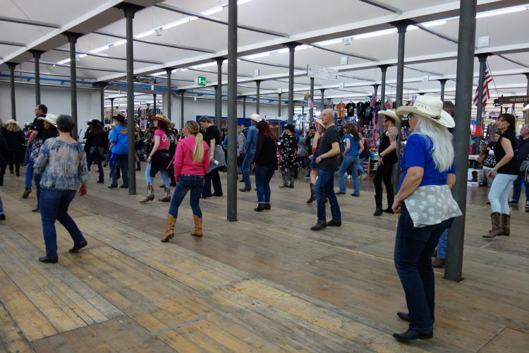 That's America Country dance