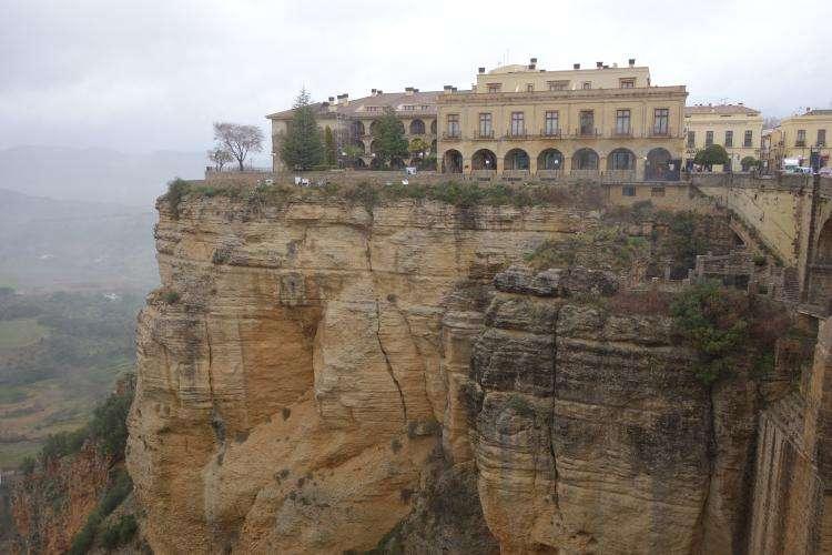 Ronda altopiano roccioso