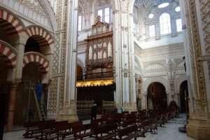Interno della cattedrale di Cordova