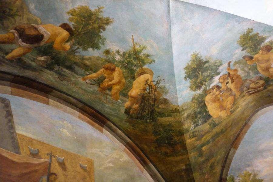 Affreschi Casa Cavazzini Udine