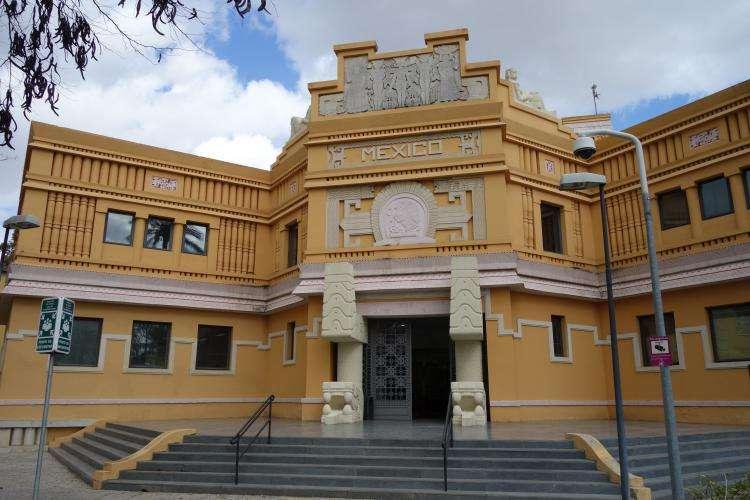 Siviglia expo 1929 padiglione Messico