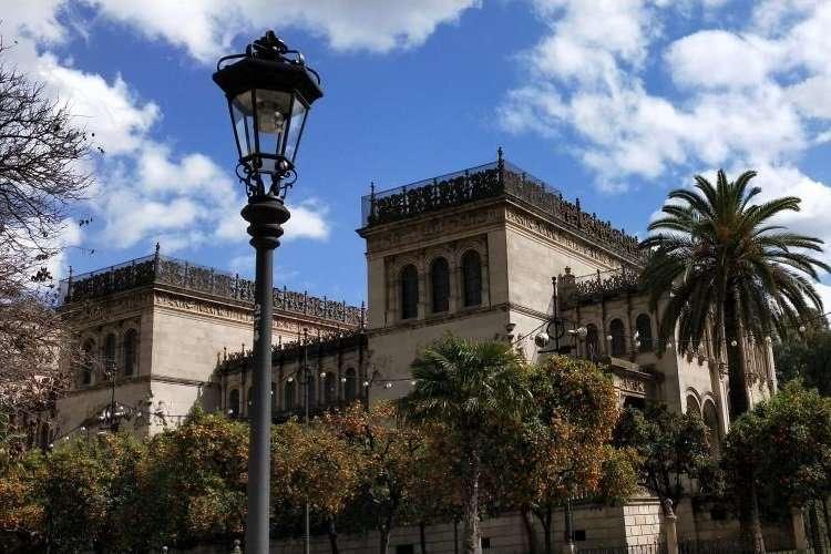 Siviglia Plaza de America Museo archeologico