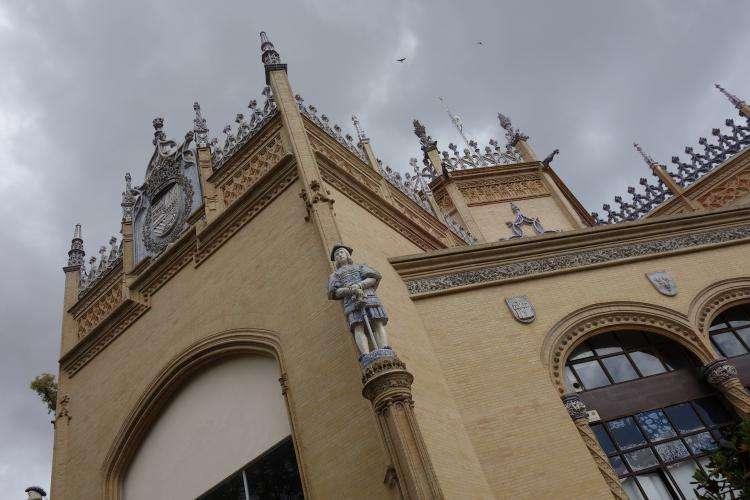 Siviglia Plaza de America Padiglione reale