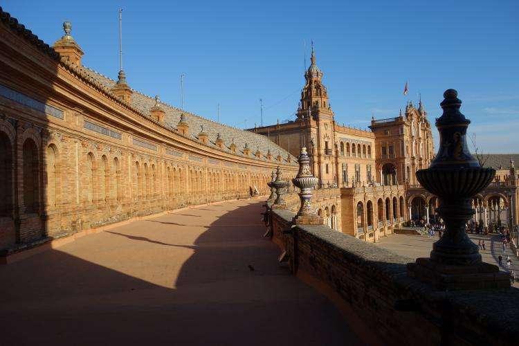 Siviglia Plaza de Espana terrazza
