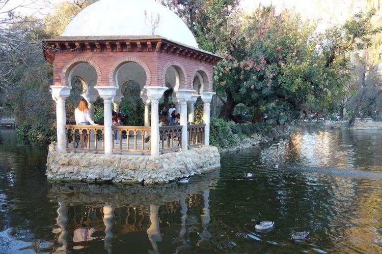 Siviglia Parque Maria Luisa isleta de los patos