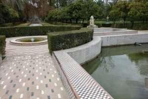 Parque maria Luisa fontana dei leoni