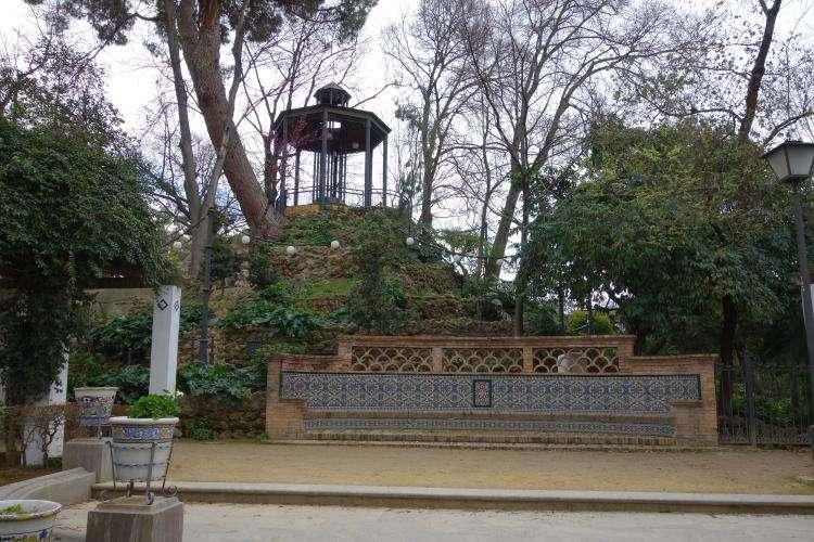 Siviglia Parque Maria Luisa collina monte Gurugu'