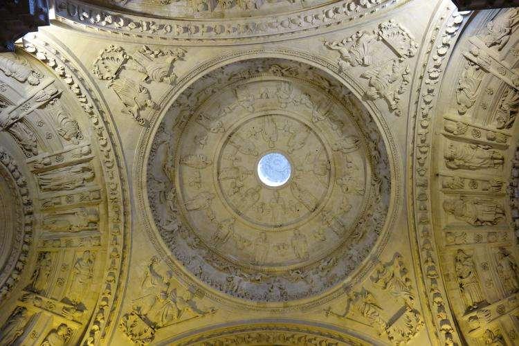 Cupola nella cattedrale di Siviglia