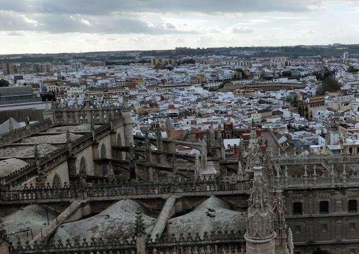 Cubiertas della cattedrale di Siviglia