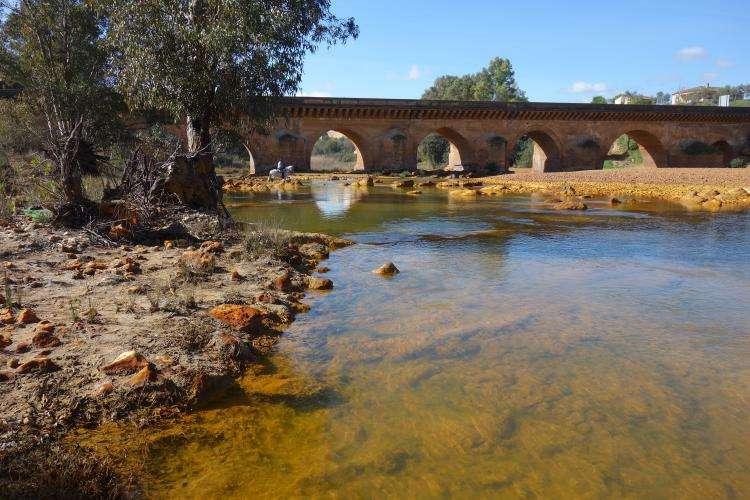Ponte romano a Niebla sul Rio Tinto