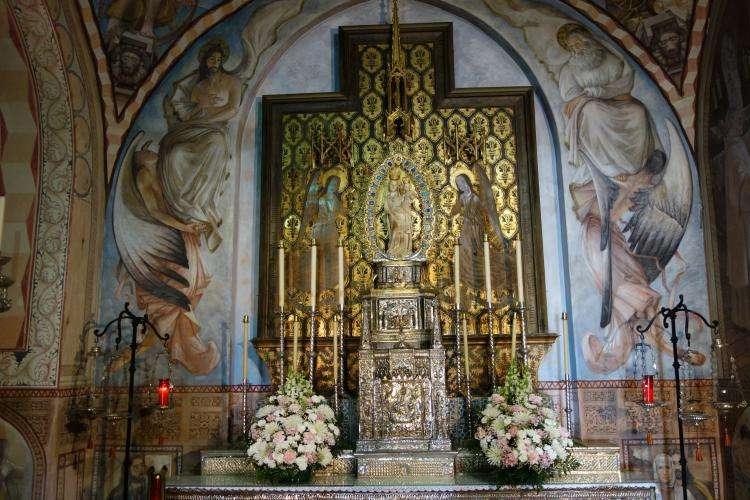 Altare della Madonna alla Rabida di Palos