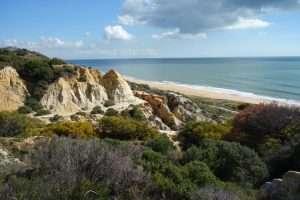 Falesie Parco de la Donana costa de la Luz