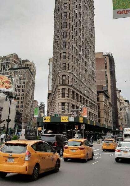 Flatiron building e i taxi