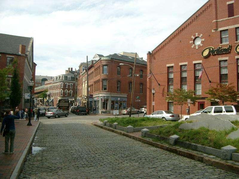 Portland centro storico