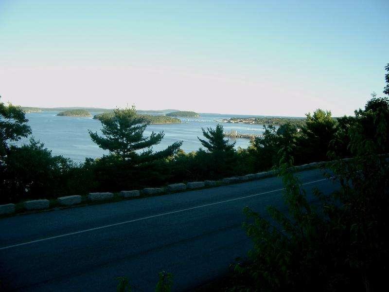 Acadia nationa park Frenchman bay