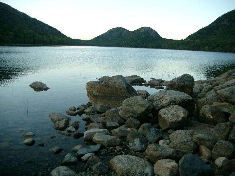 Acadia national park Jordan pond