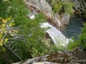 White mountains falls
