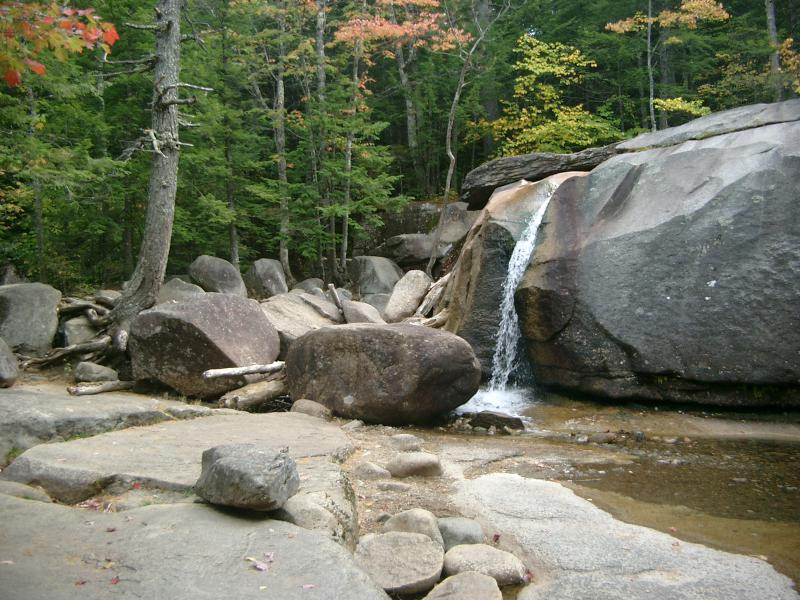 White mountains cascate