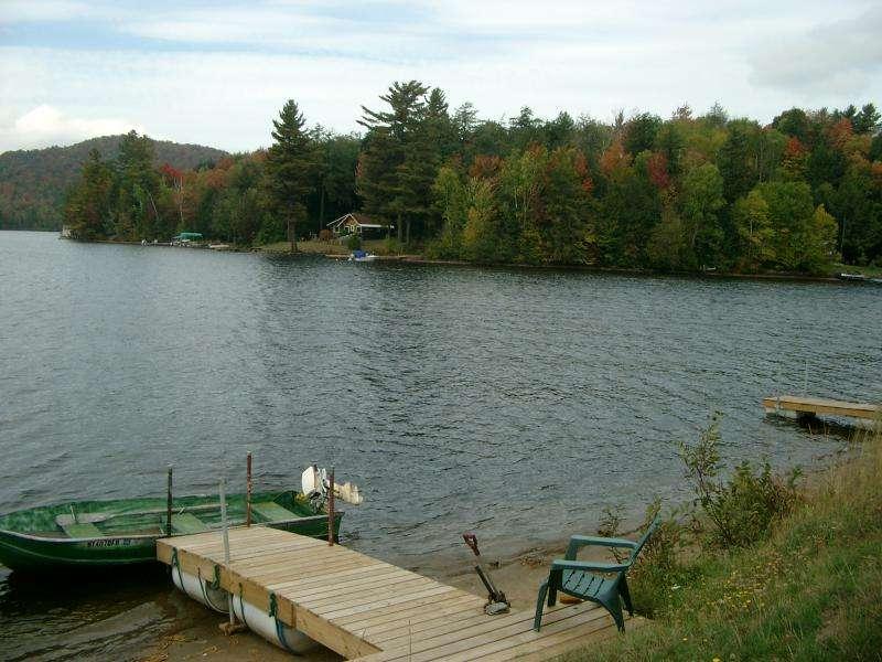 Lago Saranac nel New York State
