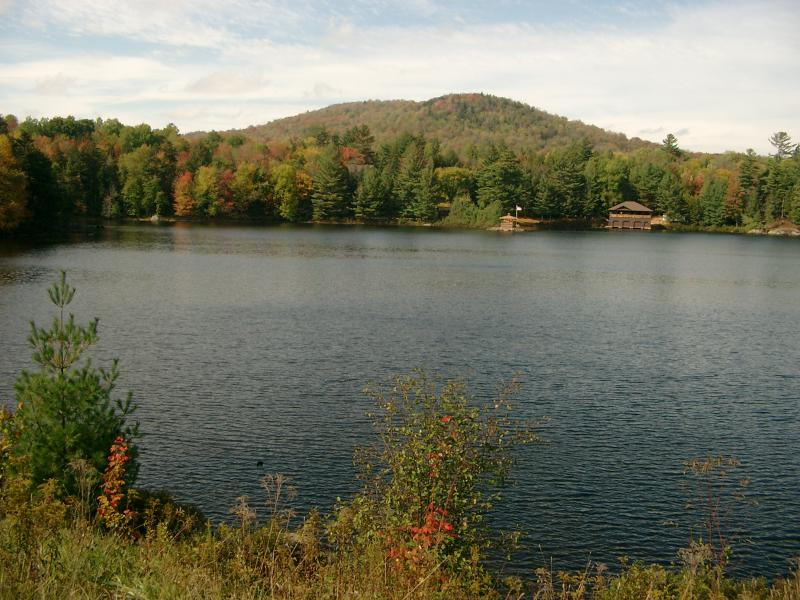 Adirondack park colori autunnali