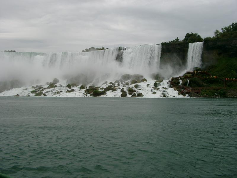 American e Bridal Veil cascate Niagara