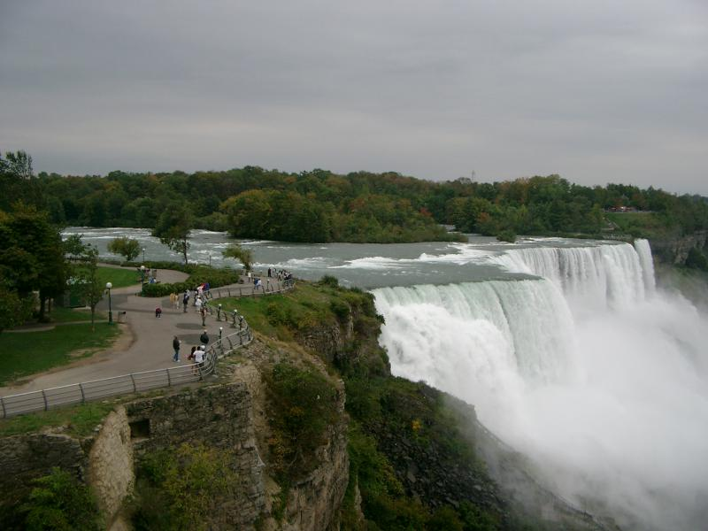American Falls dall'Observation Tower