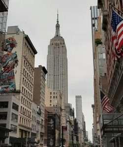 Empire State Building dalla fifth avenue