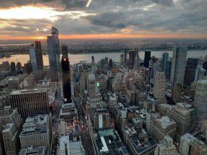 Tramonto su New York