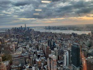 Tramonto dall'Empire State Building