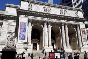 Scalinata della Public Library New York