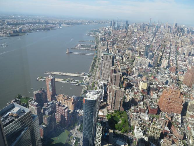 Manhattan dalla Freedom tower