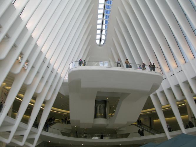 Piattaforma panoramica dell'oculus New York