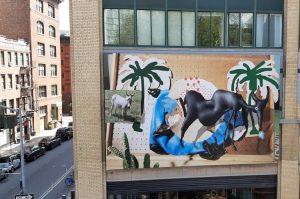 Chelsea murales dalla High Line