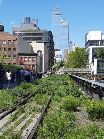 High Line vista su Hudson Yards
