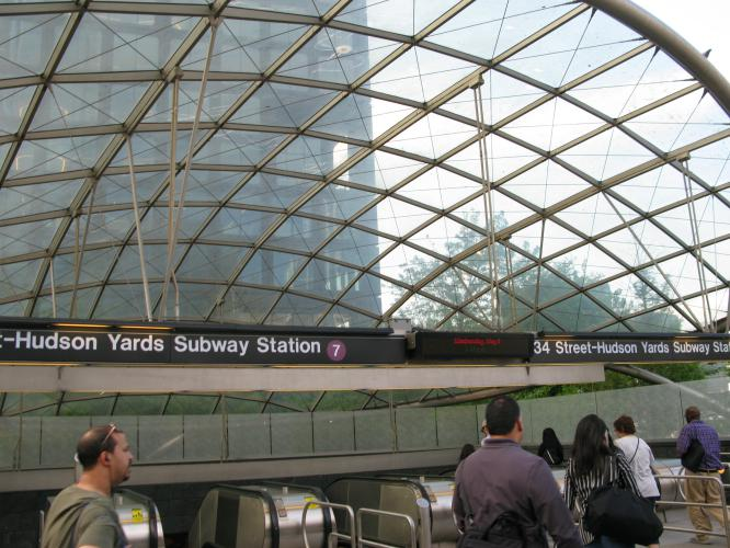 Hudson Yards Subway station