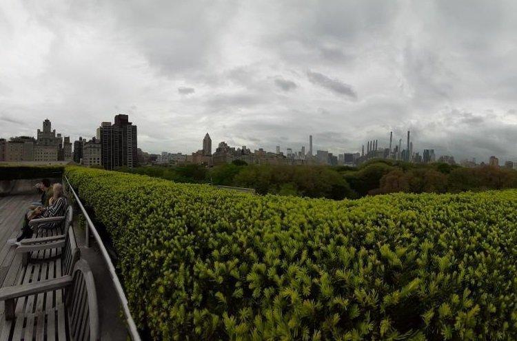 Terrazza panoramica del Met