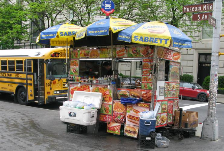 Street food a New York