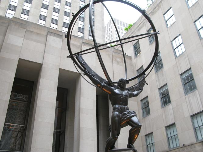 Atlante del Rockefeller Center