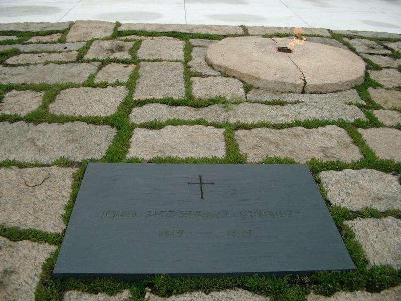 John Fitzgerald Kennedy lapide