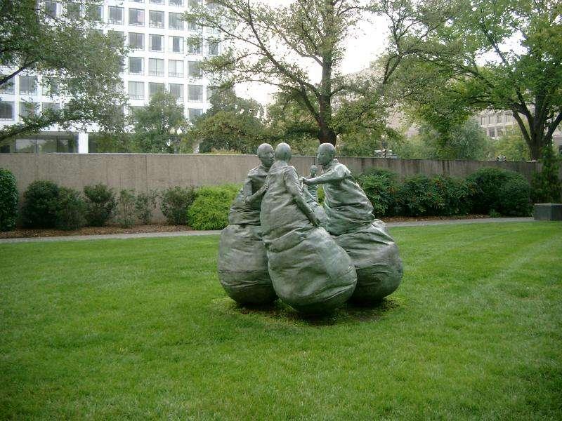 Hirshhorn museum giardino esterno