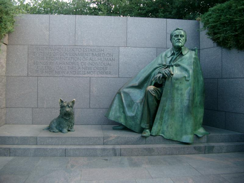 Roosevelt memoriale a Washington