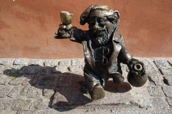 Gnometto a Breslavia Polonia