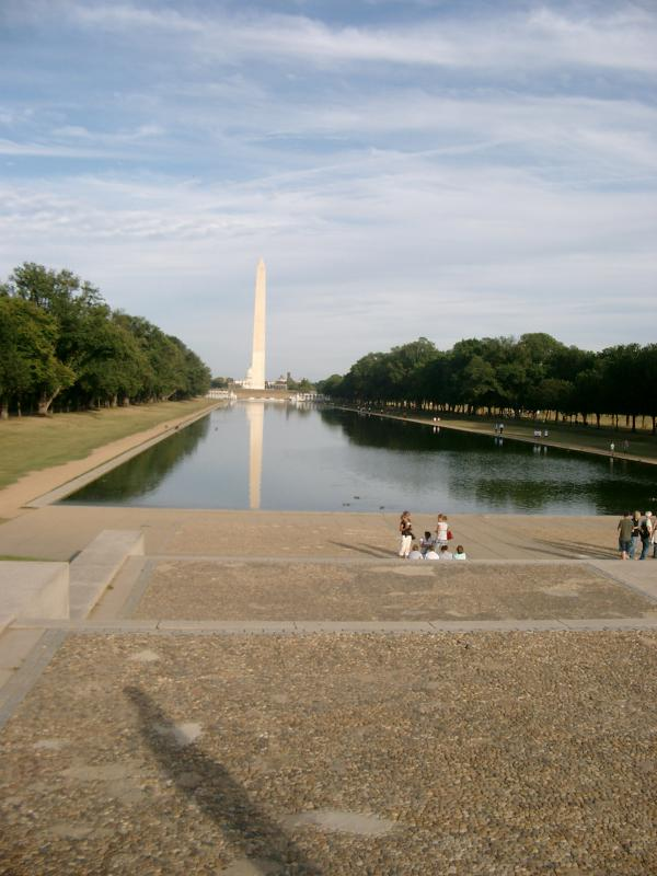 Reflecting Pool Washington