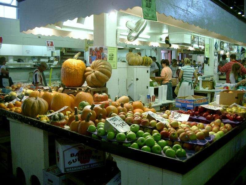 Pennsylvania Lancaster mercato amish