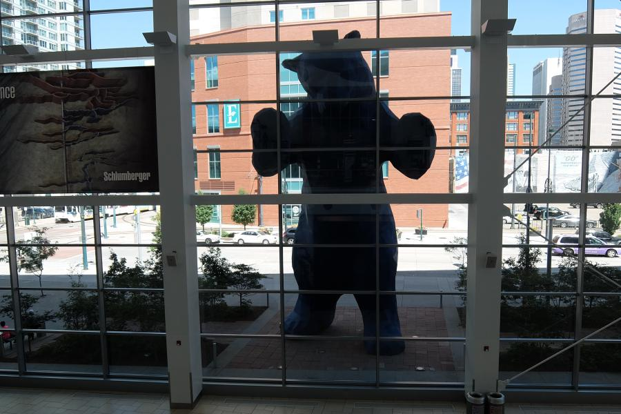 Convention Center Denver Blue Bear