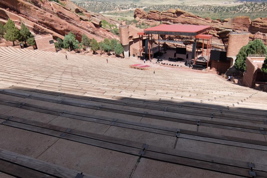 Red Rock Amphitheater Denver Colorado
