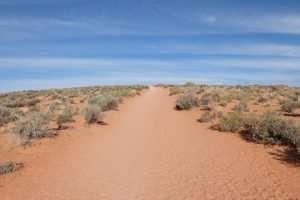 Horseshoe Bend sentiero