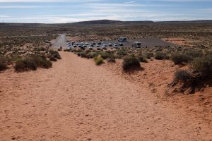 Horseshoe Bend parcheggio
