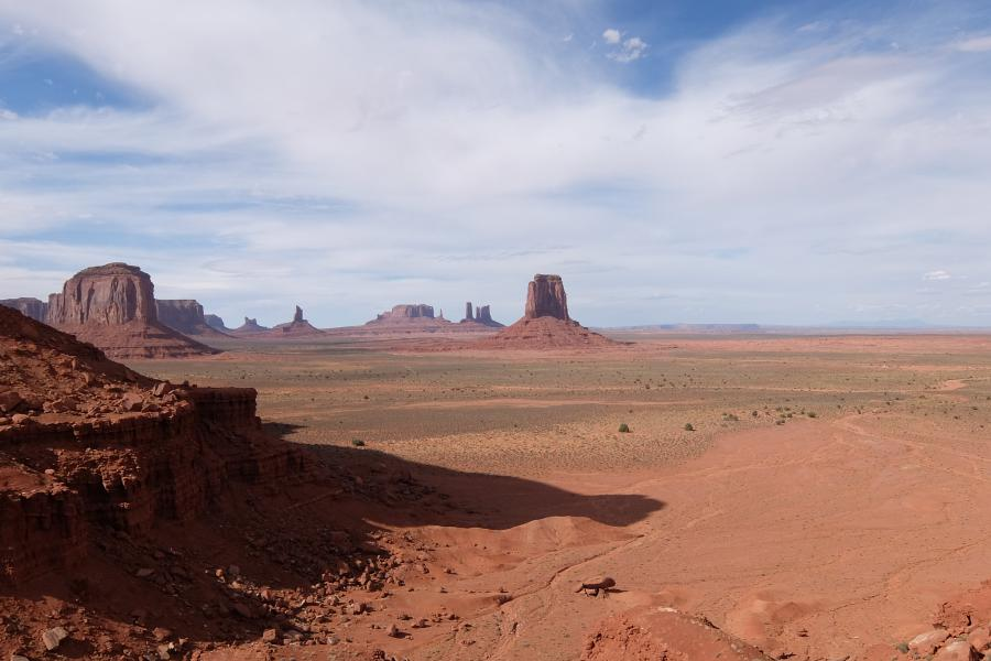 Monument Valley Artist's Point Overlook